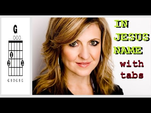 In Jesus Name - Darlene Zschech - Spanish Lyrics and Chords