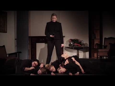 Hamlet. An all-female adaptation of Shakespeare's famous tragedy