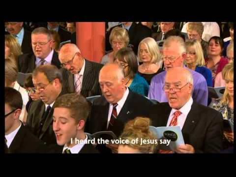 KINGSFOLD-I HEARD THE VOICE OF JESUS SAY