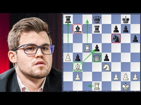 Carlsen vs Caruana Norway Chess 2018 | Game Analysis