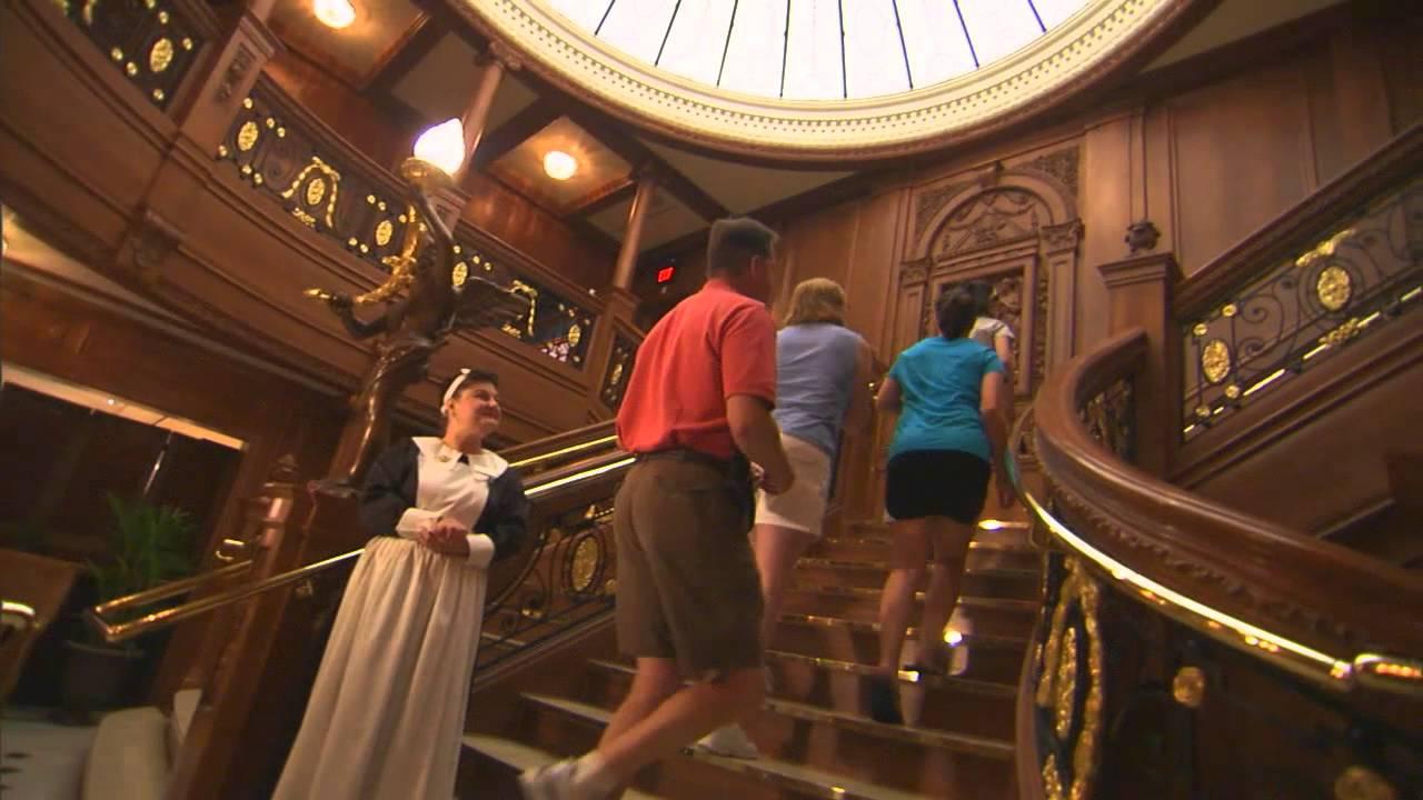 Titanic Pigeon Forge Video Tour Youtube