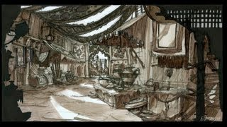 Environment Sketching Class with Philip Dimitriadis