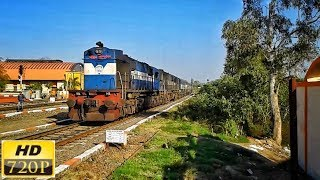 Twin WDM-3D quickly arrives MML for a scheduled halt | 13201 RJPB-LTT Express | INDIAN RAILWAYS |