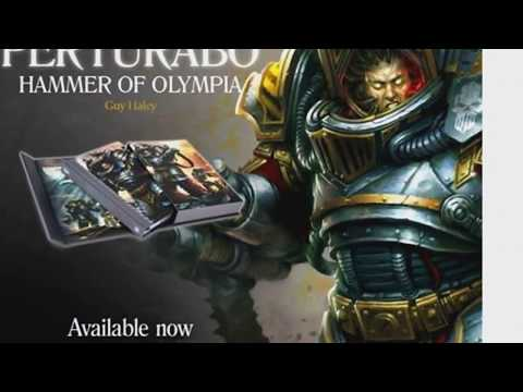 Primarchs Perturabo book 4 Warhammer Black Library Games Workshop