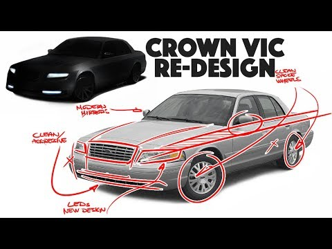Ford Crown Victoria Re-design - What if we brought it back today???