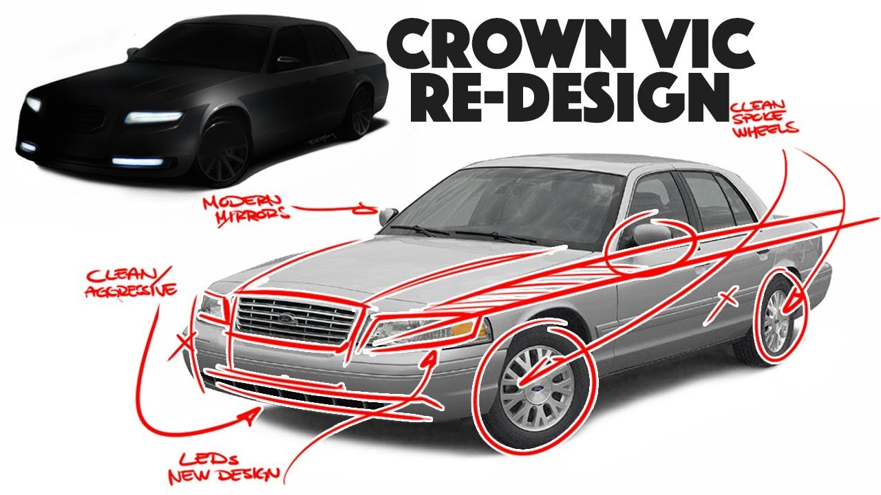 ford crown victoria re design what if we brought it back today