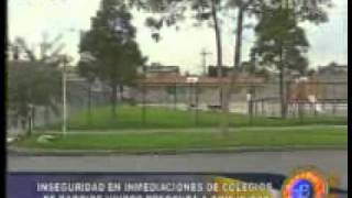 Aumento de inseguridad alrededor de colegios de Barrios Unidos en Bogotá