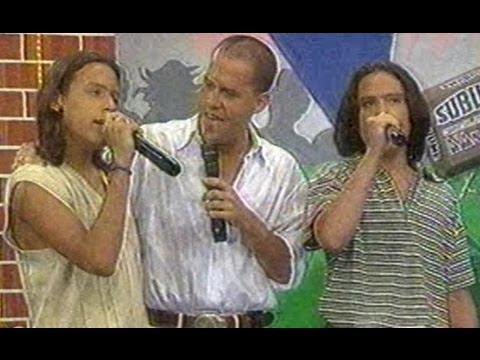 """SERVANDO Y FLORENTINO con GIANMARCO cantan """" UNA FAN ..."""