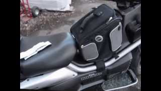 givi 455 bag installed on a Big Ruckus