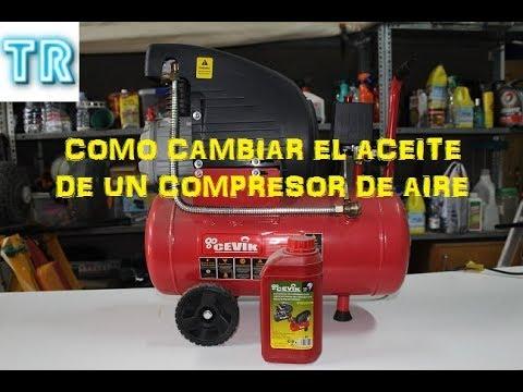 Como Cambiar Aceite De Compresor De Aire