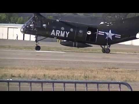 Piasecki H-21B Departing KSEE