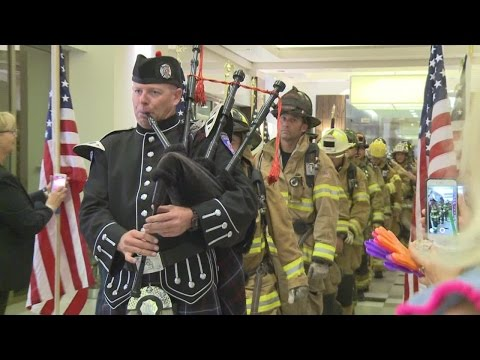 Firefighters honor fallen heroes on 9/11