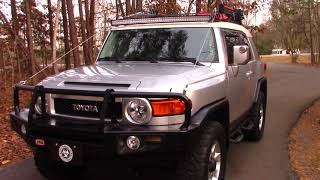 ARB Bumper and Limb Risers (FJ Cruiser Bug Out Vehicle Project)