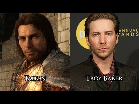 Characters and Voice Actors  Middleearth: Shadow of War