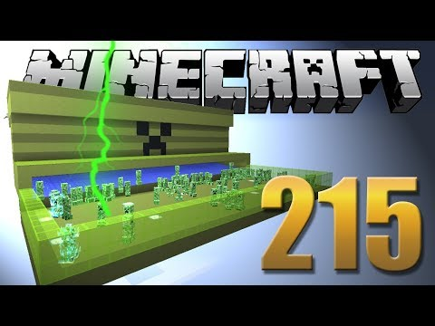 Farm de CHARGED CREEPER - Minecraft Em busca da casa automática #215