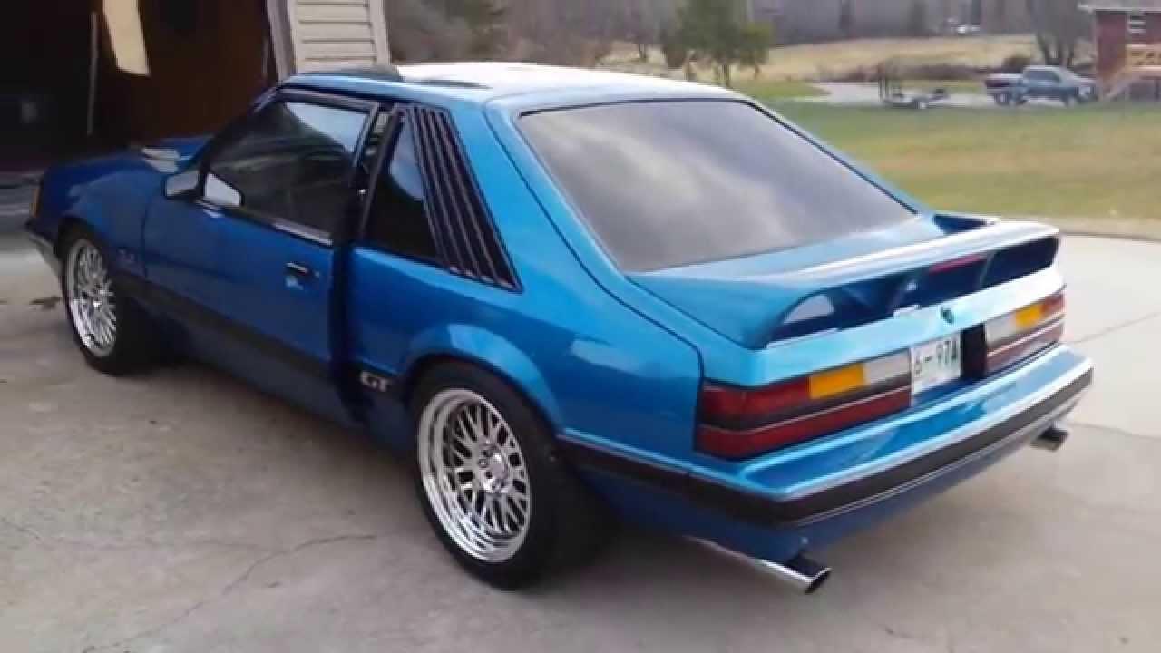 86 Mustang