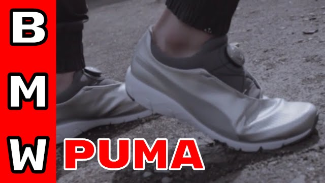 79b2e304005 Puma shoe designed by BMW - X CAT DISC - YouTube