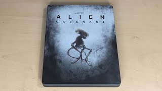 Alien: Covenant - Best Buy Exclusive 4K Ultra HD Blu-ray SteelBook Unboxing