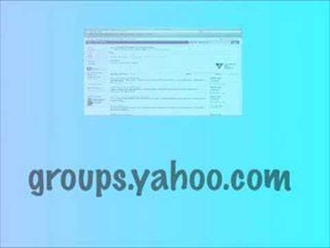 Yahoo Groups Tutorial