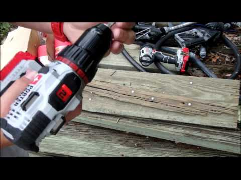PORTER CABLE 20V LITHIUM DRILL SET REVIEW