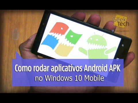 Como rodar aplicativos do Android APK no Windows Phone - [Tutorial]