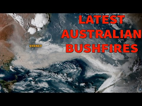Australia Fires - Latest Images Seen From Space / Australia Burns