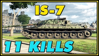 World of Tanks | IS-7 - 11 Kills - 7.9K Damage