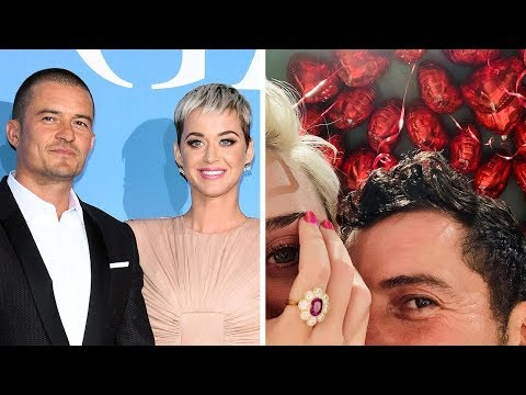 Katy Perry and Orlando Bloom Are Engaged! Mp3