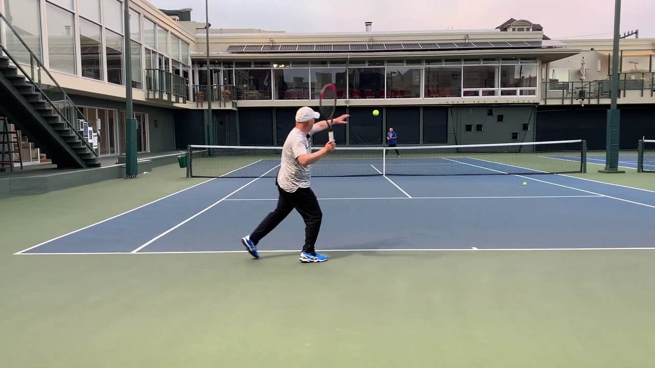 TENNIS WARM UP AND RALLY THE RIGHT WAY