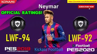 PES 2020 (MOBILE/PC) 70 OFFICIAL NEW PLAYER RATINGS! 🔥🔥 Master League Trailer Today!