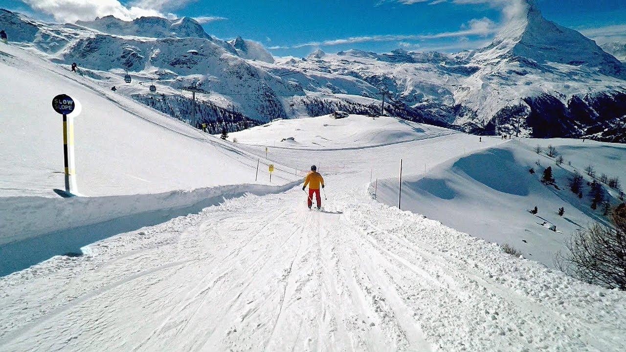 Matterhorn skiing - Real Rail Adventures