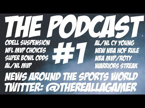 Podcast #1 - News Around the Sports World!