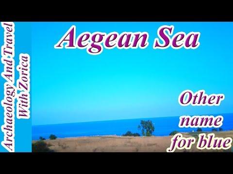 Amazing beauty of Aegean Sea