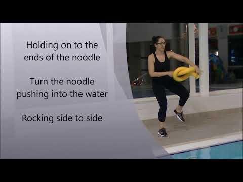 Aqua Aerobics - Twisted Noodle