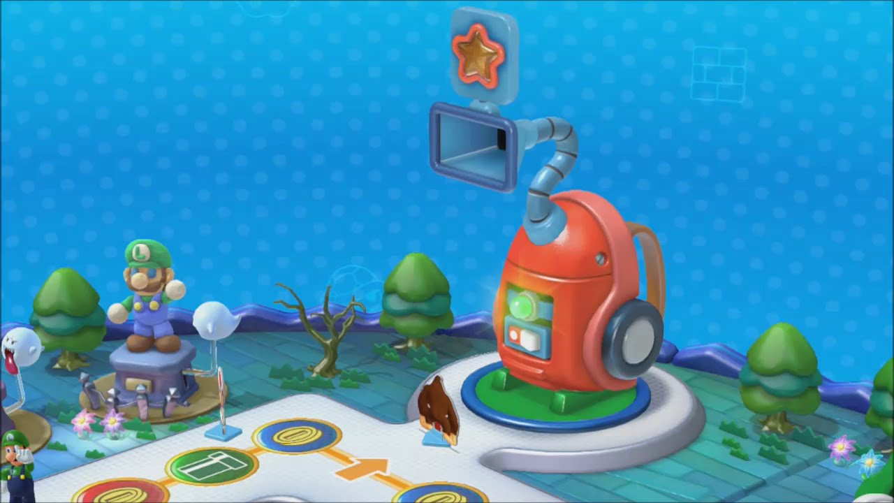 Mario party 10 luigi board amiibo party youtube - Luigi mario party ...