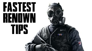 Rainbow Six Siege - How to Earn Renown Fast - Tips for Grinding Renown in Season 2 (Dust Line)