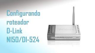Configurando Roteador Д-Лінк N150 для Ді-524