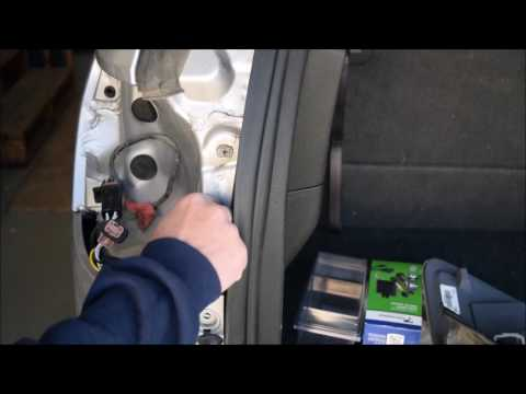 2011 gmc acadia trailer lights wiring harness installation