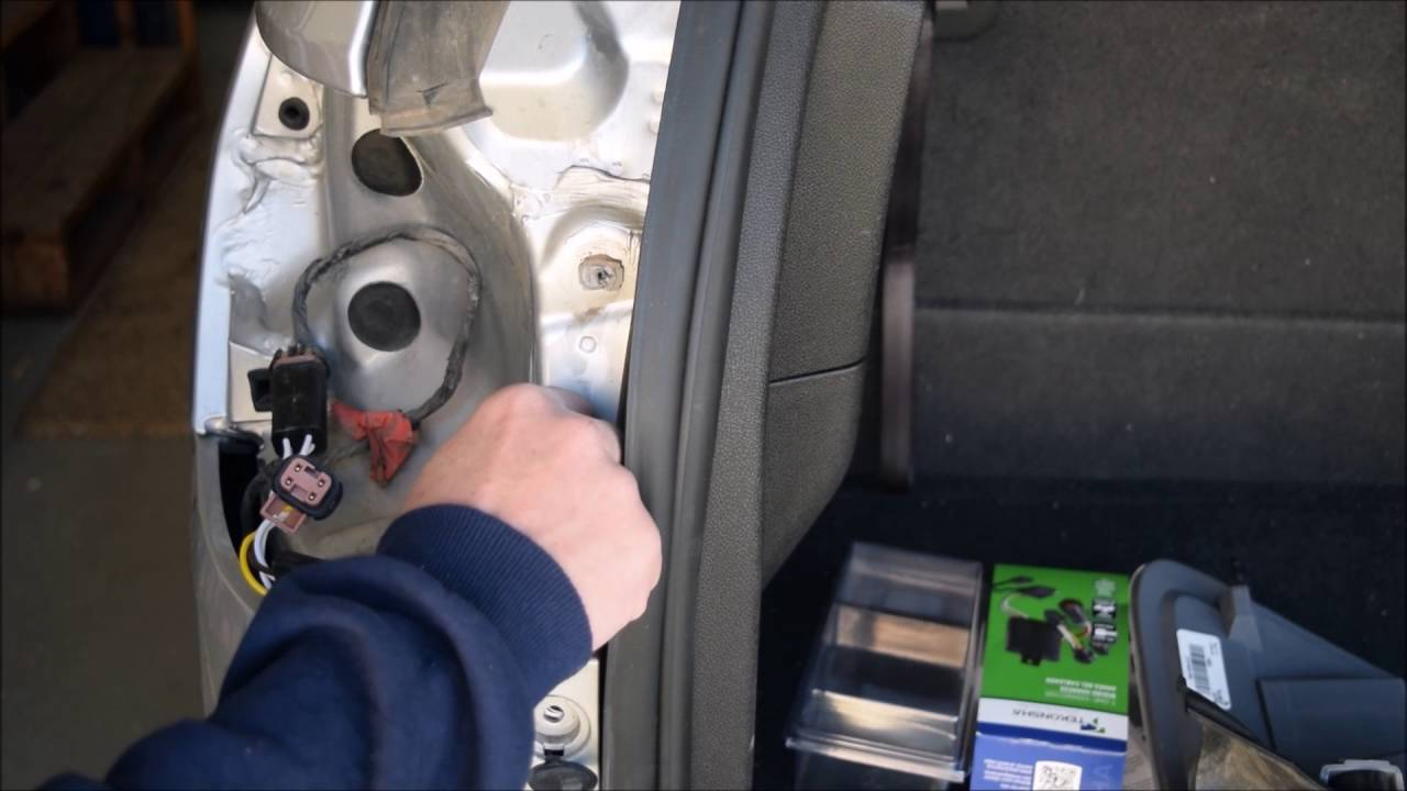 2011 GMC Acadia Trailer Lights Wiring Harness Installation, Chevrolet Traverse, Buick Enclave