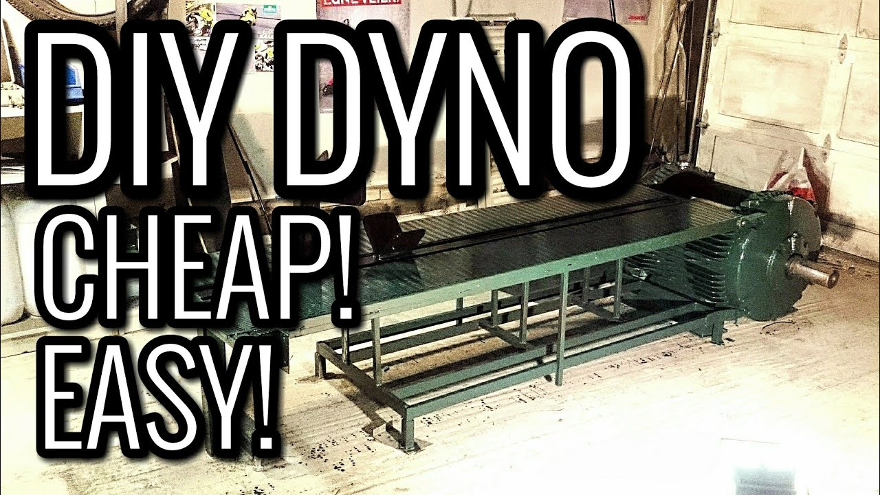 CHEAP DIY DYNO ANYONE CAN BUILD!