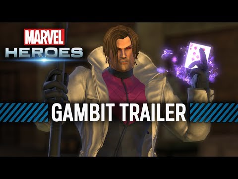 Marvel Heroes trailer shows off Gambit's powers