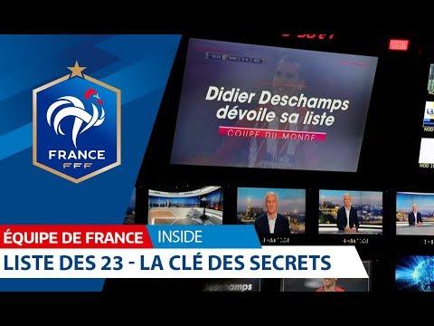 Equipe de France : Liste des 23, la clef des secrets I FFF 2018
