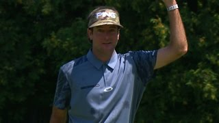 Bubba Watson excites the crowd with a birdie at PGA Championship
