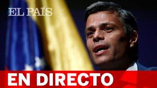 DIRECTO | El OPOSITOR VENEZOLANO LEOPOLDO LÓPEZ comparece en rueda de prensa en Madrid