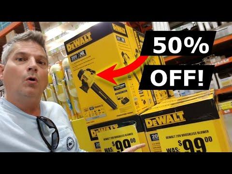 Home Depot Dewalt Tools Prices Slashed 50% 2020