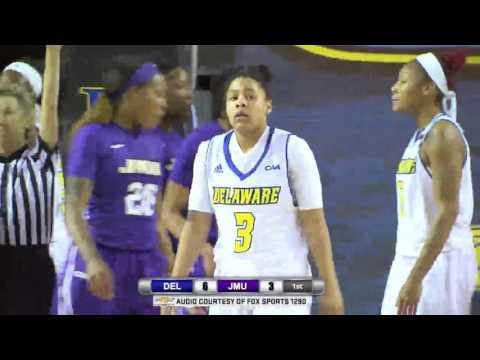 Blue Hens Playback - Women's Basketball Vs. James Madison (1/13/2017)