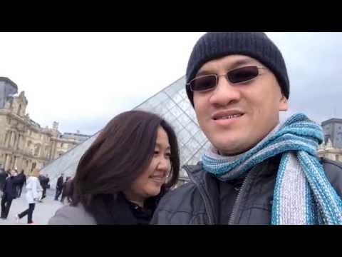 Rommel & Daisy Balaguer Paris Trip April 2013