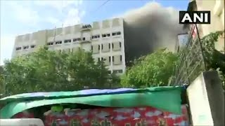 Fire at MTNL building in Mumbai, many feared trapped