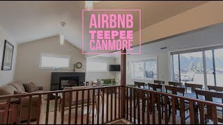 Airbnb - Teepee Townhouse Canmore Review