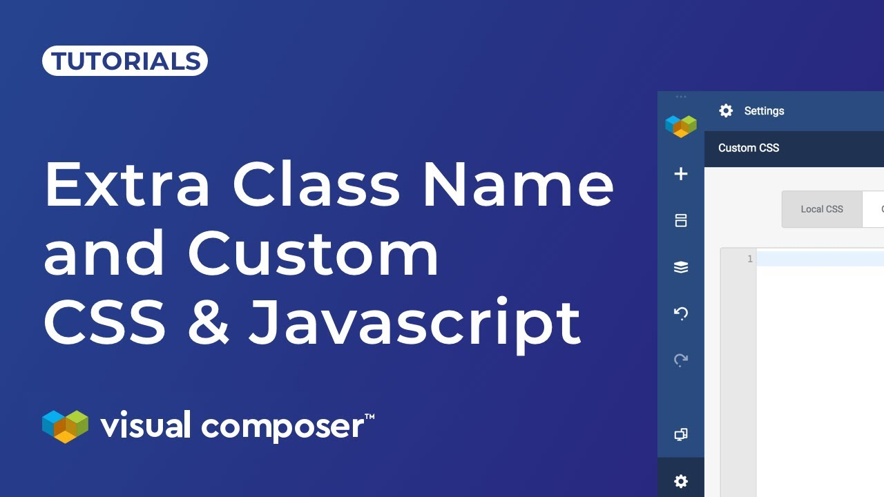 Custom CSS & Javascript - Visual Composer Website Builder